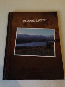 RTW Worldwide Travel Journal Planelazy Book