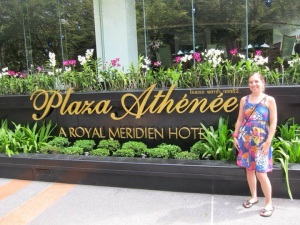 Luxury stay at Plaza Athenee, A Royal Meridien Hotel, Bangkok. Starwood SPG. 2010