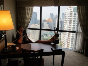 Plaza Athenee A Royal Meridien Hotel.  Luxury in Bangkok, Thailand.  Starwood brand  SPG