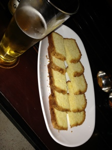 Cake and Beer. Omar cafe. Le meridien Dahab Resort