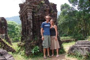 Ruins in Hue, Vietnam