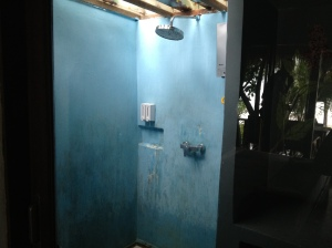 shower at Koh Kood Resort