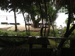View from A1 bungalow on Koh Kood