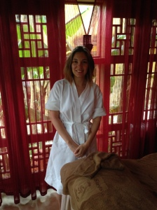 Enjoying the Spa at Hoi An Resort and Spa, Vietnam