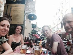 Drinks in Saigon