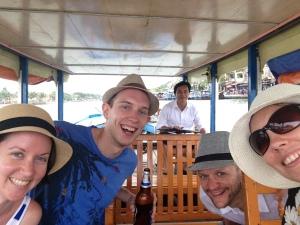 private boat trip in Hoi An, Vietnam