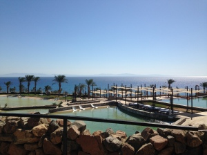 Swimming pools at Le Meridien Dahab Resort