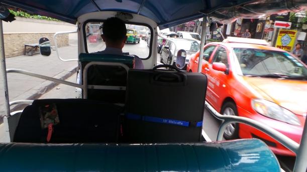 Complimentary Tuk Tuk from Aloft Hotel Bangkok