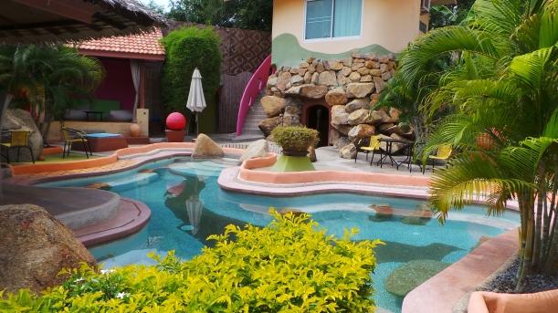 The pool at Pandora Lifestyle Hotel, Koh Samui, Thailand