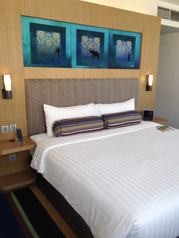 A comfy night sleep at Aloft, Bangkok